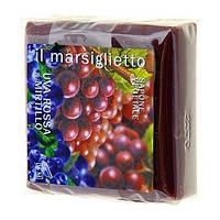 Марсельское натуральное мыло - Красный виноград и черника