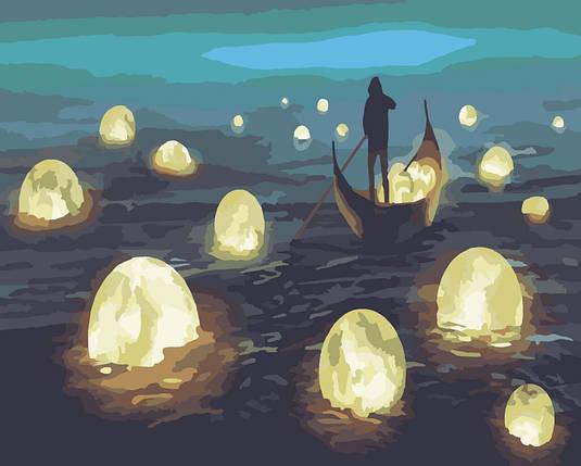 50045 Ловець місячного світла Набір для малювання картини за номерами, Без коробки, фото 2