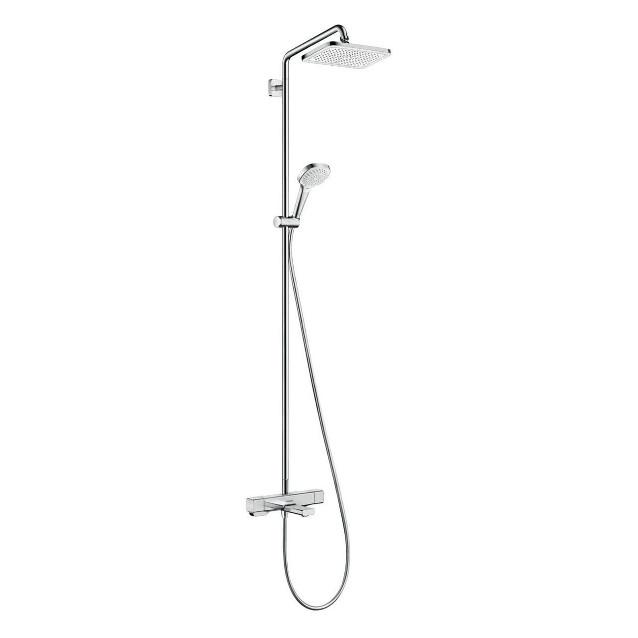 CROMA E Showerpipe душевая система 280 1jet с термостатом для ванны, хром