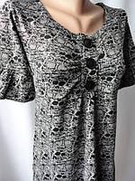 Платья женские хорошего качества с коротким рукавом. Арт. 95205, фото 1