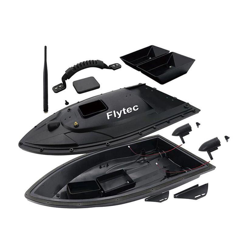 Модель кораблика для прикормки Flytec HQ2011 для самостоятельной сборки (без электронных плат, батареи и