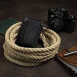 Гаманець унісекс Vintage 14941 чорний, фото 2