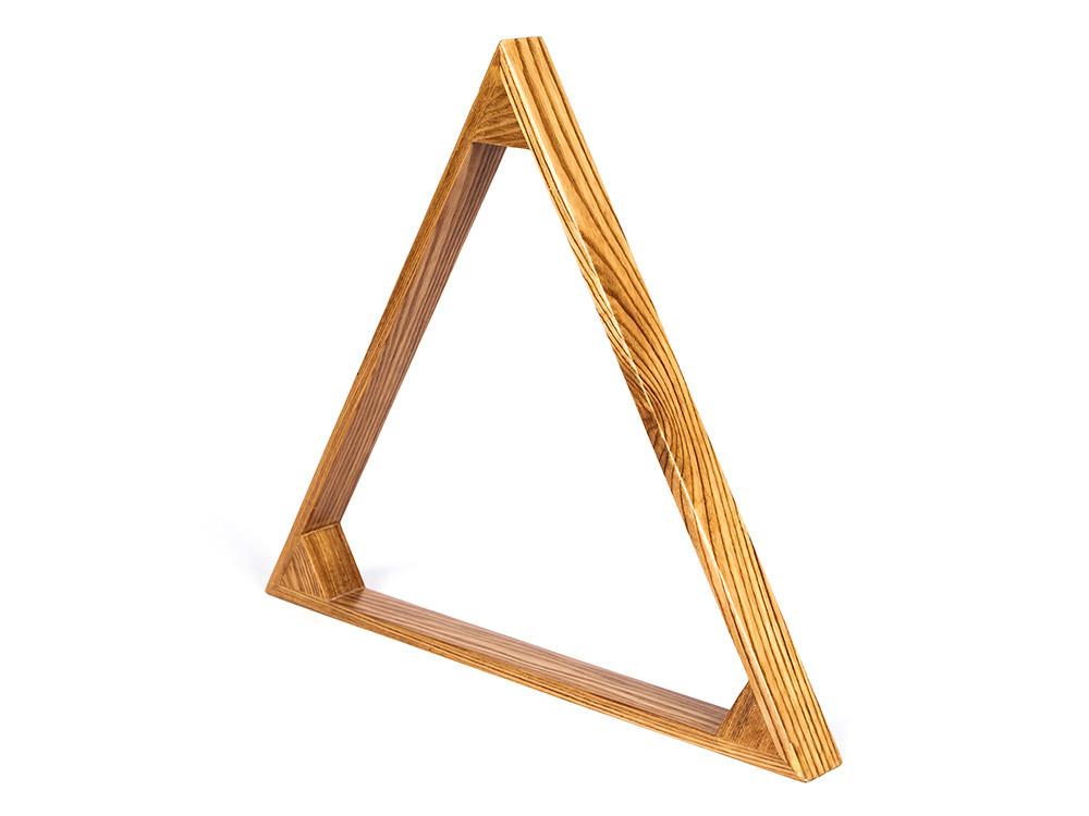 Треугольник Клубный 60мм Дуб