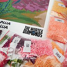 TWD70013 Набор алмазной вышивки Снеговички с подарками, фото 3