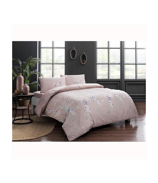 Комплект постельного белья Tac полуторный ранфорс Sarah V02 арт.TAC60229797