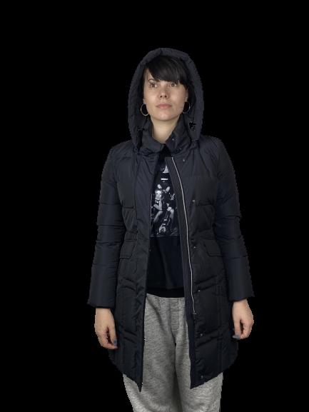 Пуховик женский GEOX цвет темно-синий размер 38 арт W7425VT2429F4382