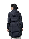 Пуховик женский GEOX цвет темно-синий размер 38 арт W7425VT2429F4382, фото 2
