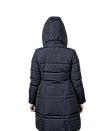 Пуховик женский GEOX цвет темно-синий размер 38 арт W7425VT2429F4382, фото 3