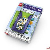 Набор для творчества «My Phone Clutch» - вышивка лентами и бисером, чехол для мобильного своими руками.