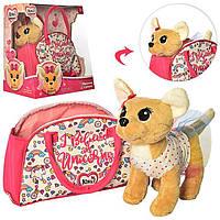 Собачка Кикки интерактивная  в сумочке Chi Chi Love   M 4364 UA