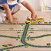 """Набор """"Автомобильная дорога, ж/д пути, дорожные знаки"""" на клейкой основе MiDeer Toys, фото 3"""