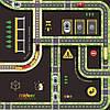 """Набор """"Автомобильная дорога, ж/д пути, дорожные знаки"""" на клейкой основе MiDeer Toys, фото 4"""