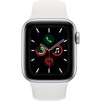 Смарт-часы Apple Watch Series 5 GPS, 40mm Silver Aluminium Case with White Sp (MWV62GK/A)