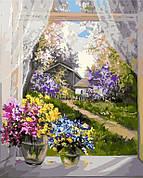 Картина по номерам Идейка Утро в деревне 40*50 см (без коробки) арт.KHO2231