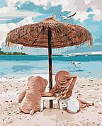 Картина по номерам Идейка Я и мой мишка 40*50 см (без коробки) арт.KHO4671
