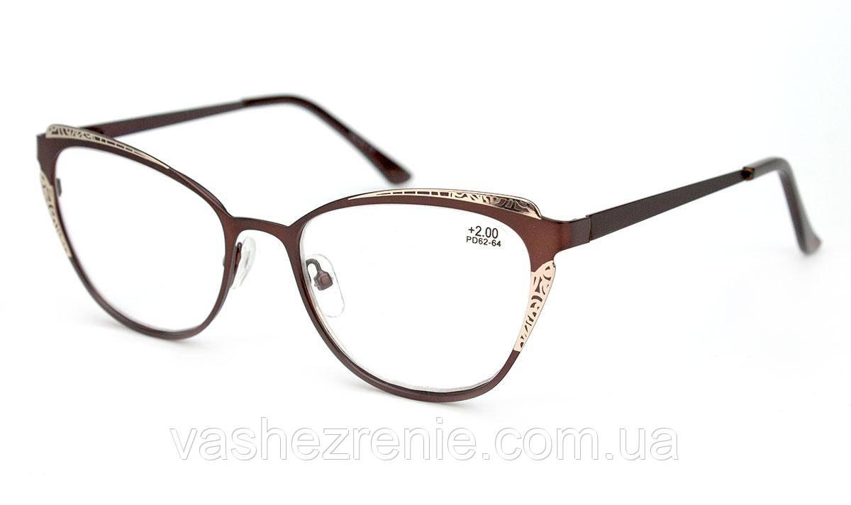 Очки женские для зрения +/-  Код:2516