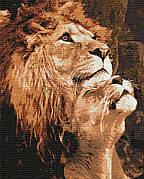 Картина по номерам Идейка Большая любовь 40*50 см (в коробке) арт.KH4192