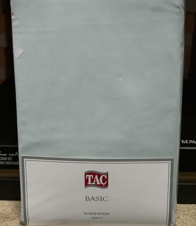 Пододеяльник Tac Basic Евро 200*220 см ранфорс ментол арт.TAC60232226