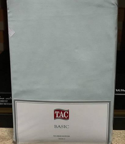Пододеяльник Tac Basic Евро 200*220 см ранфорс ментол арт.TAC60232226, фото 2