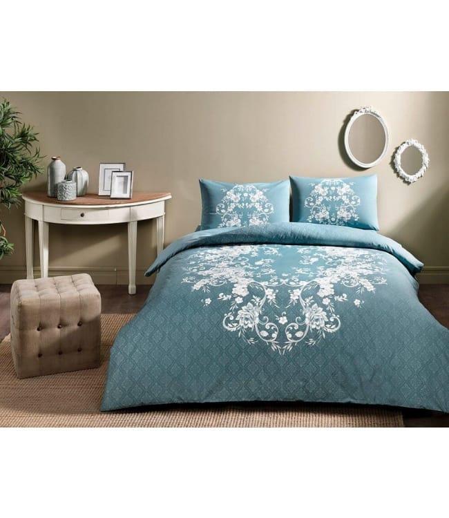 Комплект постельного белья Tac Евро ранфорс Sonya V01 арт.TAC60218996
