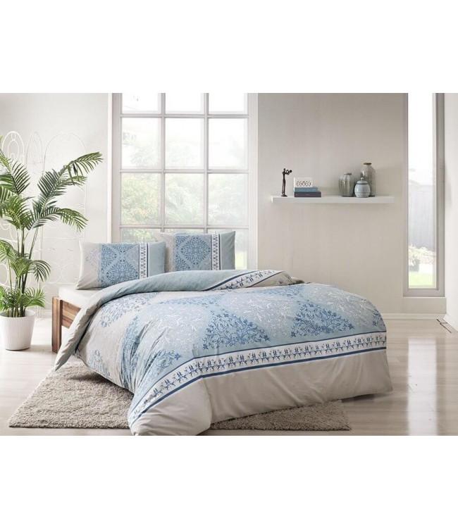 Комплект постельного белья Tac Евро ранфорс Talia V01 арт.TAC60229800