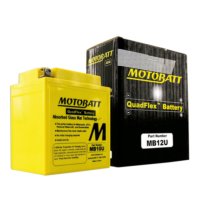 Мото аккумулятор MOTOBAT