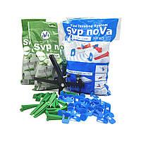 Комплект noVa SVP (1000 Оснований 2мм  + 300 Клиньев + Инструмент), фото 1