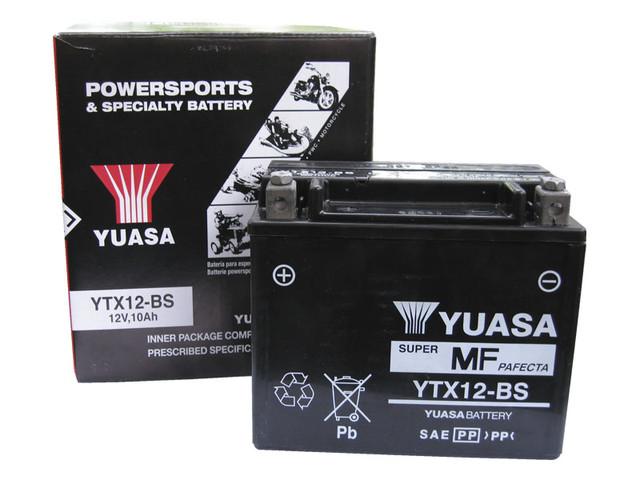 Мото аккумулятор YUASA