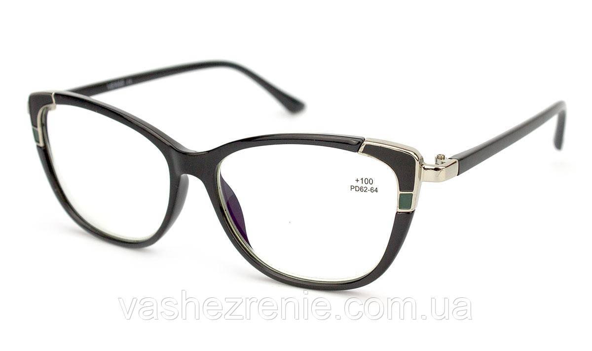 Очки женские для зрения +/- Blue Blocker Код:1542