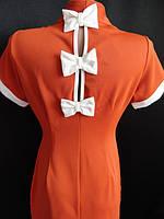 Платья недорогие с бантиками на спине. Арт. 95292, фото 1