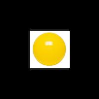 Гимнастический мяч ABS GYM BALL, 45 см, цвет желтый Qmed КМ-13 Польша