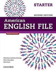 American English File Second Edition Starter Student's Book with Online Practice