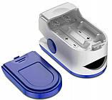 Пульсоксиметр цифровой на палец SPO2 PR, фото 6