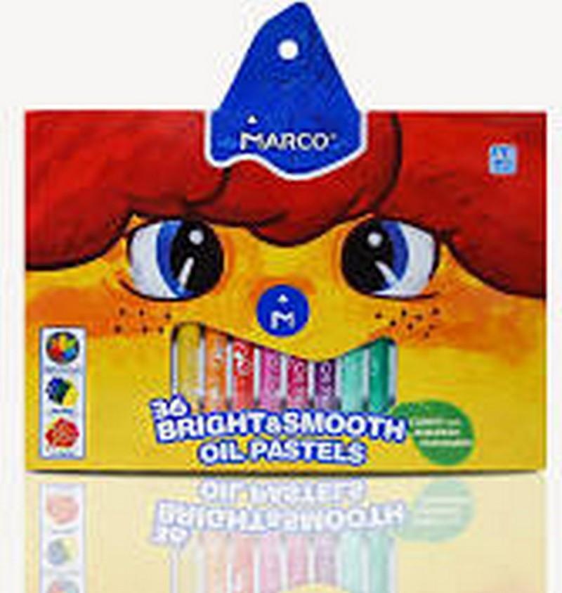 Пастель масляна Marco 36 кольорів