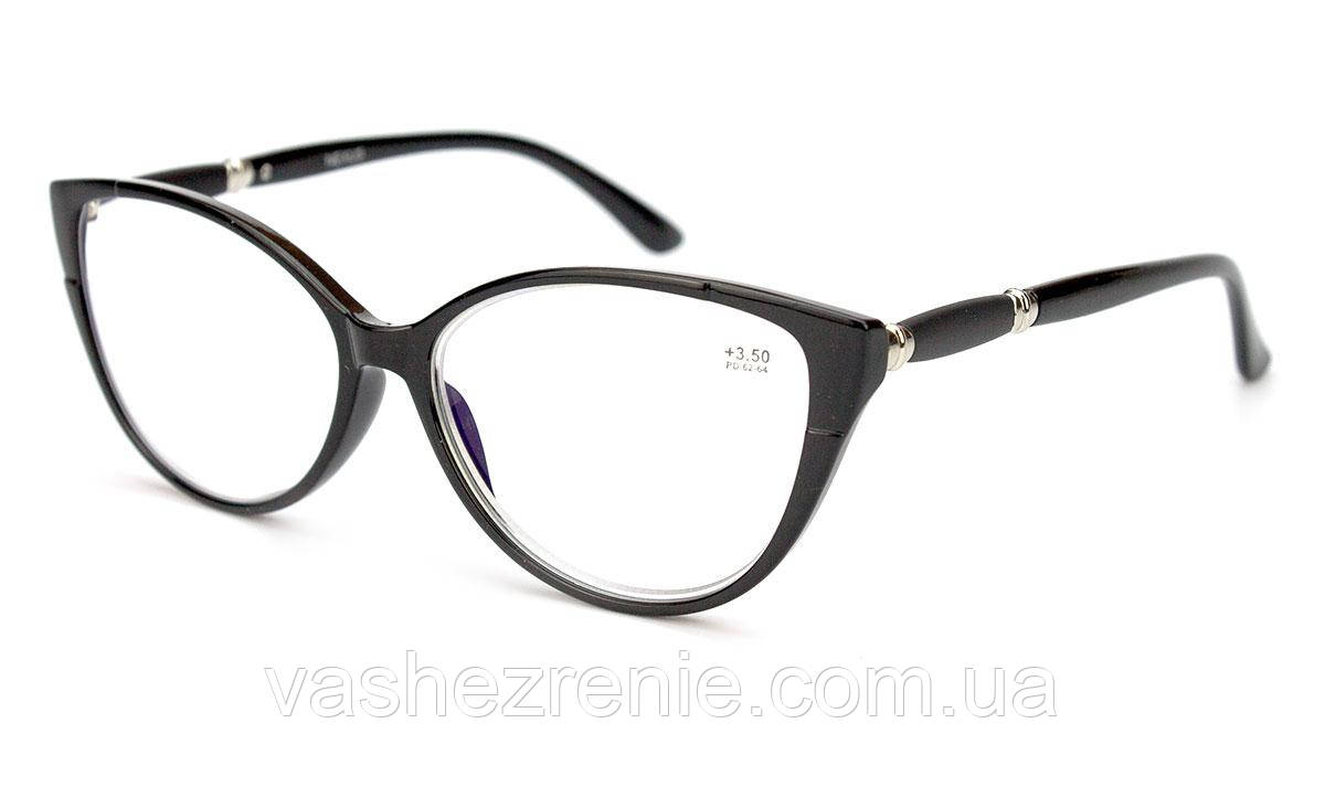 Очки женские для зрения +/- Blue Blocker Код:1350