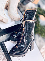 Комфортные женские ботинки Гуччи (реплика), фото 1