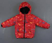 Куртка двухсторонняя утепленная для мальчиков Glo-Story, фото 1