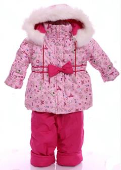 Зимние костюмы-комбинезоны (от 6 до 18 месяцев)
