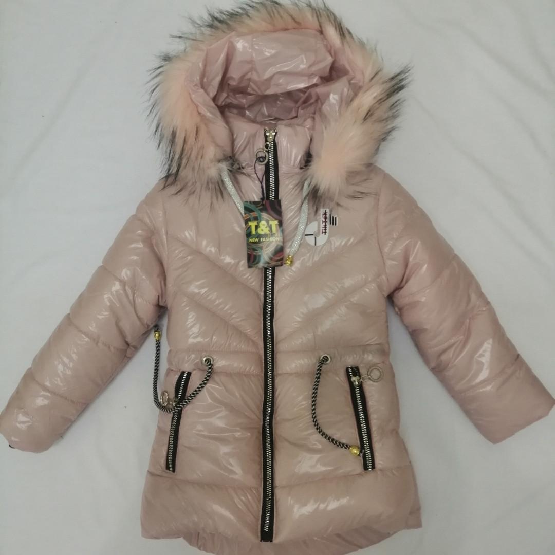 Зимове пальто для дівчинки