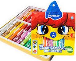 Пастель масляна 24 кольори Marco