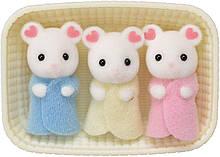 Набор Сильвания Фемели  Белоснежные мышата-тройняшки