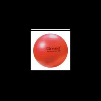 Гимнастический мяч ABS GYM BALL, 55 см, цвет красный Qmed КМ-14 Польша