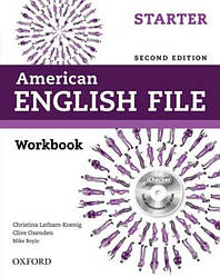 American English File Second Edition Starter Workbook
