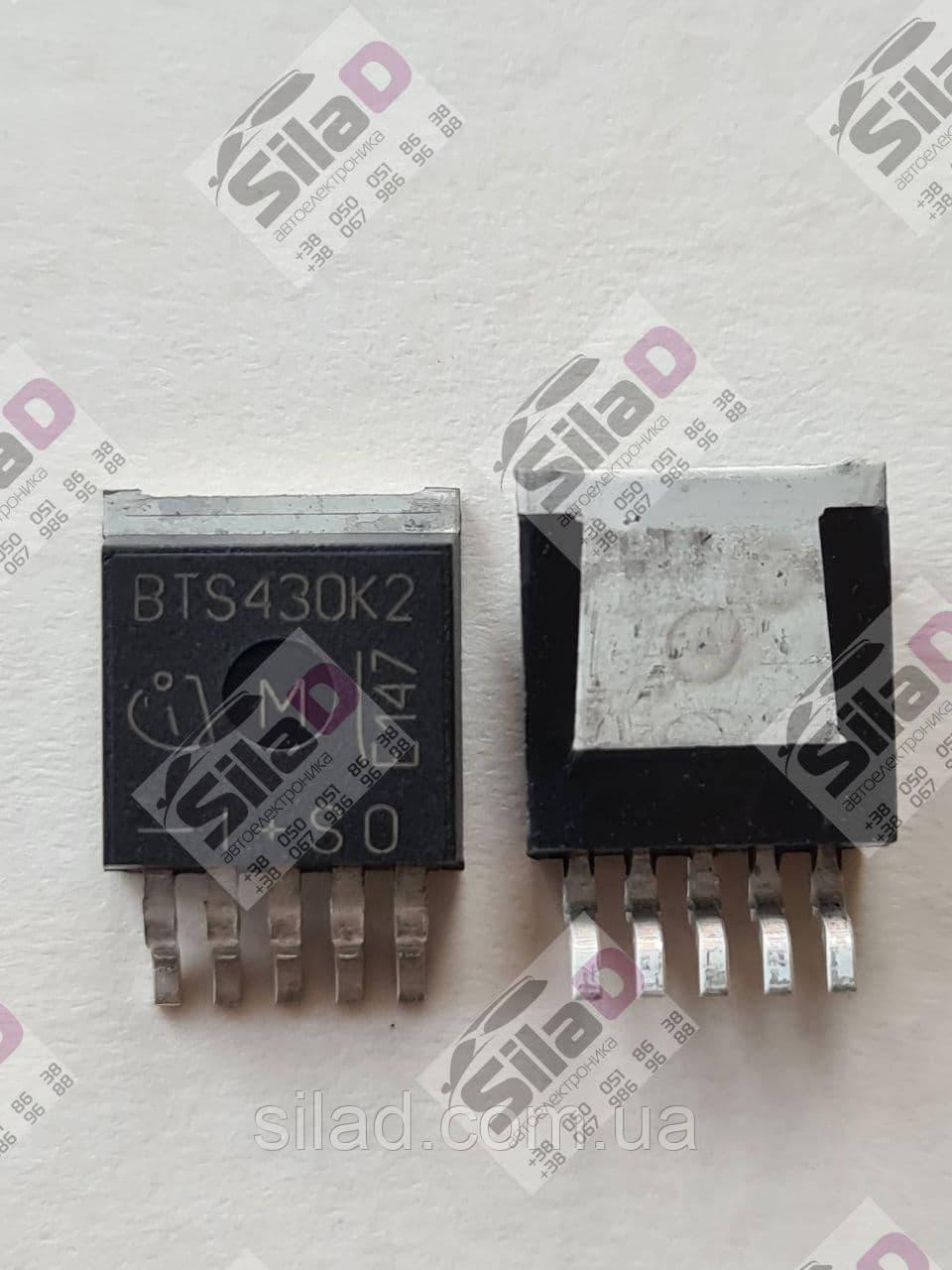 Транзистор BTS430K2 Infineon корпус TO-263-5