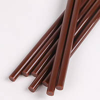 Термоклей диаметр 11мм, длинна 270мм, коричневый, 1кг, GLUE-BROWN