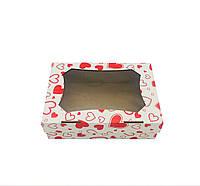 Коробка 247*170*80 (окно) Сердечки