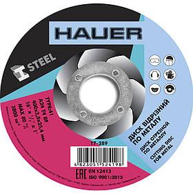 Диск отрезной Hauer по металлу 400 х 3.5 х 25.4 мм (17-289)