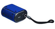 Bluetooth колонка Remax Fabric RB-M30 Blue, фото 2