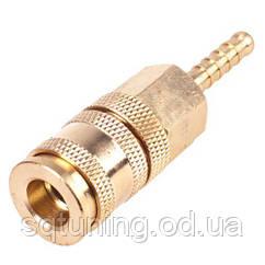 Alloid. Быстроразъемное соединение на шланг с фиксатором. 06 мм. (ПМ-2SH) (ПМ-2SH)