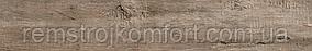Плитка для пола Golden Tile Terragres Rona коричневая 150x900 G47190